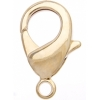 Lobster Clasp 12mm Hamilton Gold
